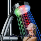 Rainbow shower head Colorful LED Shower Head 7-Color Changing Flashing Rainbow