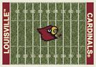 Louisville Cardinals Football Field Rug