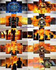 Firefighters Painting 5 Pieces Canvas Print Heroes Poster Wall Art Picture Decor