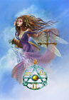 Zodiac Elemental Charm PENDANT AND CARD Star Sign Pagan Celtic Runic Wicca Gift