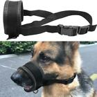 Adjustable Pet Dog Mask Bark Bite Mesh Mouth Muzzle Stop Chewing Puppy Tool H