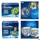 GoodNites Bedtime Underwear for Boys (Choose Your Size) ****NEW****