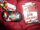 designer clothing and accessories - iron man contact lens case and lens cloths 3 different designs