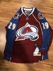 Reebok Premier NHL Jersey Colorado Avalanche Nathan MacKinnon Burgundy Stitched $78.87 USD on eBay