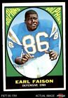 1967 Topps #75 Earl Faison Dolphins NM $45.0 USD on eBay