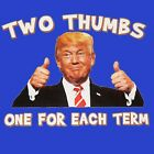 Funny T Shirt President Trump Second Term 2020 MAGA Mens Sizes Small to 6XL image