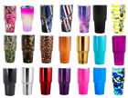 BonBon 30 Ounce Tumbler Stainless Steel Cup with Lid
