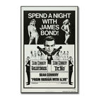 James Bond 007 Classic Movie Silk Poster Canvas Wall Art Print 12x18 24x36 inch $11.81 CAD on eBay