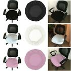 Solid Color Spandex Computer Chair Cover Office Seat Cover Slipcover Removable