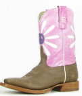 Anderson Bean Kids Boots w/ Calm Daisy K7021 Western Boots SALE!