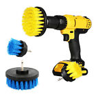 2 inch / 4 inch drill brush for Car Carpet wall and Tile cleaning Yellow Blue