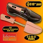 Rochester Mohawk Men's Shoe Tree FREE Personalized Engraving 3-5-10-15 Pairs