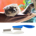 Pet Puppy Dog Cat Stainless Steel Comb Long Hair Shedding Grooming Flea Comb FN
