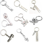 If Dad Can't Fix It No One Can Drive Safe Novelty Heart Compass Keyring Keychain