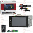 "PIONEER CAR DOUBLE DIN 6.2"" CD DVD BLUETOOTH STEREO + REMOTE W/ BACK UP CAMERA"