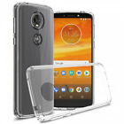 Clear TPU Case + Tempered Glass For Motorola Moto G7 Power Plus E4 E5 G6 Play G5
