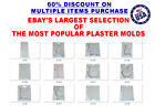 Yaley Deep Flex Plaster Casting Molds Choose From Many Designs Non Silicone Mold image