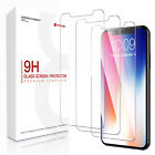 [3x] Apple iPhone XS Max XR Screen Protectors Tempered Glass Thin Protection LOT
