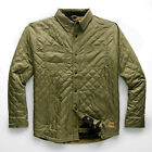 THE NORTH FACE 2019 FORT POINT INSULATED Reversible FLANNEL JACKET Olive / Camo