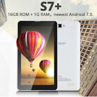 7 inch 16GB ROM+1G RAM Quad Core Dual Camera GPS Phone Call Android 7.0 Tablet