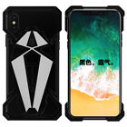 Spider Man Metal Armor Bumper Shockproof Back Case Cover For iPhone XS Max XR X