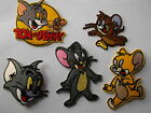 Tom and Jerry Type CAT Iron/Sew On Applique / Patch