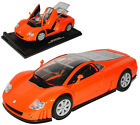 VW Volkswagen Nardo W12 Coupe Orange Show Car 1997-2002 1/18 Motormax Modell A..