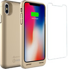 iPhone X XS Qi Wireless Charging Battery Case Slim External Backup Charger Cover
