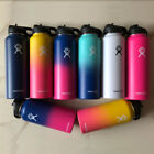 Hydro Flask Insulated Stainless Steel Water Bottle, Wide Mouth with Straw Lid