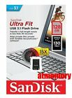SanDisk Ultra Fit 16GB 32GB 64GB 128GB 256GB USB Flash Drive lot CZ430 USB3.1 US