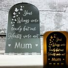 Family Memorial Candle Holder Gift Remembrance Plaque Memory Tealight Ornament