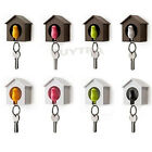 Bird&House Designed Nest Key Holder Chain Ring Keychain Keyring Hanger Ga