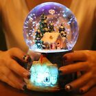 Snow House Crystal Ball Music Box Automatic Snow Spinning Birthday Gift To Girls