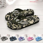 Women Men Flat Slippers Flip Flops Thong Beach Summer Shoes Massage Sandals