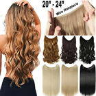 Secret Head Band Wire 100% Natural in Straight Wavy Hair Extensions Ombre FR7