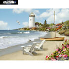 beach lighthouse 5D DIY Diamond Painting