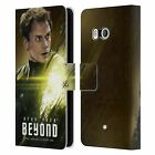 OFFICIAL STAR TREK CHARACTERS BEYOND XIII LEATHER BOOK CASE FOR HTC PHONES 1