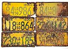 Louisiana 1950 Truck Old License Plate Garage Vtg Tag Man Cave Wall PICK-A-PLATE