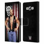 OFFICIAL WWE AMERICAN FLAG SUPERSTARS LEATHER BOOK CASE FOR SAMSUNG PHONES 3