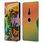 OFFICIAL DEAN RUSSO DOGS LEATHER BOOK WALLET CASE FOR SONY PHONES 1