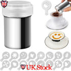 Stainless Chocolate Shaker Icing Sugar Powder Cocoa Flour Coffee Sifter Tool UK