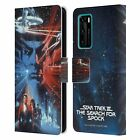 OFFICIAL STAR TREK MOVIE POSTERS TOS LEATHER BOOK WALLET CASE FOR HUAWEI PHONES