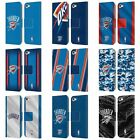 NBA OKLAHOMA CITY THUNDER LEATHER BOOK WALLET CASE FOR APPLE iPOD TOUCH MP3 on eBay