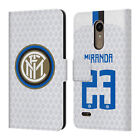 INTER MILAN 2018/19 PLAYERS AWAY KIT GROUP 2 LEATHER BOOK CASE FOR LG PHONES 1