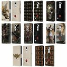 OFFICIAL ANNE STOKES STEAMPUNK LEATHER BOOK WALLET CASE FOR LG PHONES 2