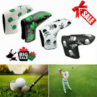 Golf Putter Cover Waterproof PU Leather Skull Leaf Club Headcovers Gift AU Free