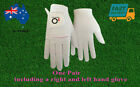 Women's Golf Gloves Rain Grip Left and Right Hand Wet Hot XS S M L XL AU 1 Pair