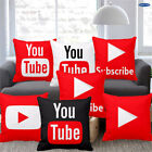 18 Inch Fashion You Tube Cushion Cover Pillowcase image
