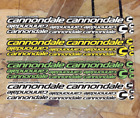 Внешний вид - Cannondale Vinyl Die Cut Decals Stickers Bike Frame Kit Replacement Protective