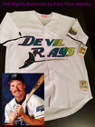 NEW Wade Boggs Tampa Bay Devil Rays Mens MN 1998 2000 Style HOME Retro Jersey